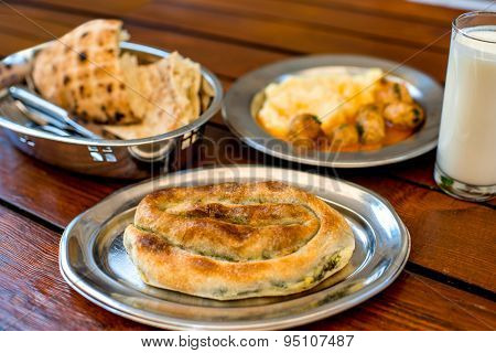 Traditional balkan's food