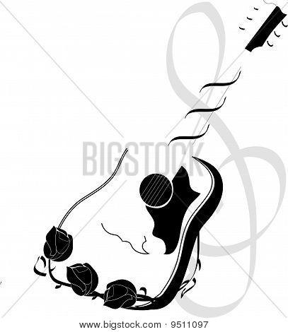 Roses & Guitar