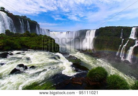 IGUAZU WATERFALLS, BRAZIL