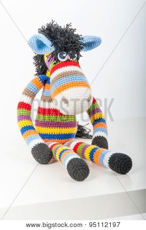 Soft Toy Bright Zebra