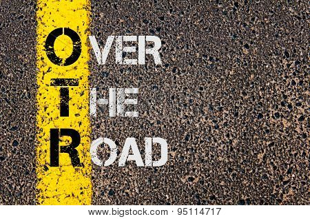 Business Acronym Otr As Over The Road