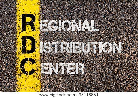 Business Acronym Rdc As Regional Distribution Center