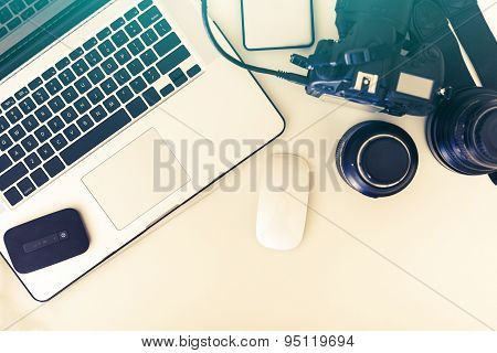 Photographer Desk