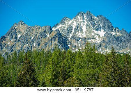 Slovakian Tatra Mountains