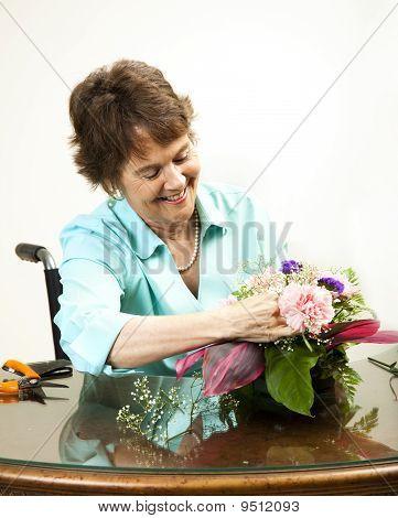 Arranging Flowers