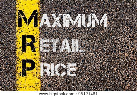 Business Acronym Mrp As Maximum Retail Price