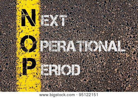 Business Acronym Nop As Next Operational Period