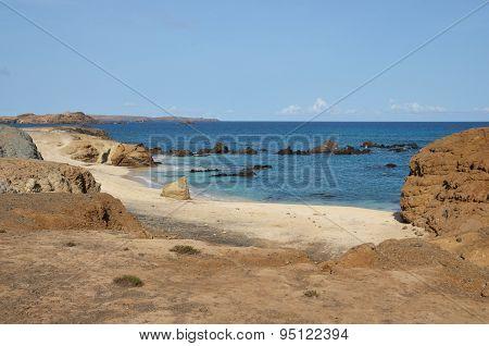 Beach Below Plateau