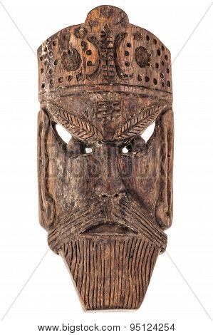 European Wooden Mask