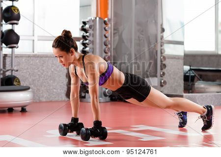 Doing Plank Position