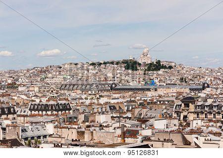 Paris Montmartre And The Sacre-coeur