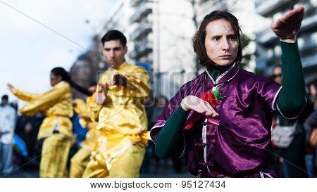 Kung Fu - Chinese New Year Parade