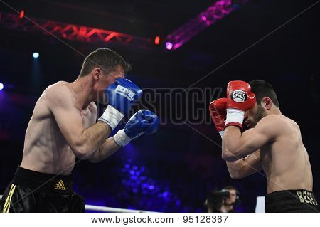 Ranking Boxing Fight In Palace Of Sport, Kiev