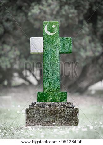 Gravestone In The Cemetery - Pakistan