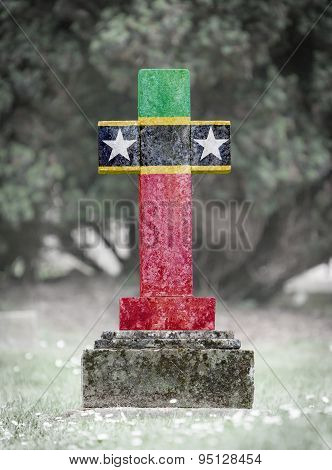 Gravestone In The Cemetery - Saint Kitts And Nevis