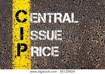 Business Acronym Cip As Central Issue Price
