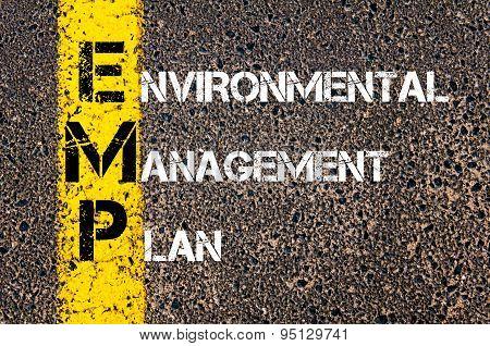Business Acronym Emp As Environmental Management Plan