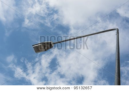 Lamp Post And Sky