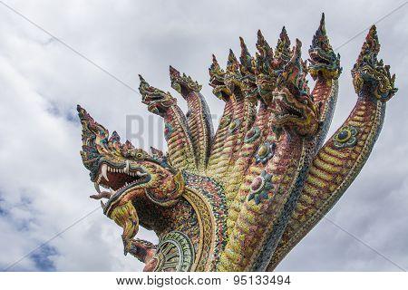 Temple Of Ban Rai, Province Nakhonratchasima, Thailand
