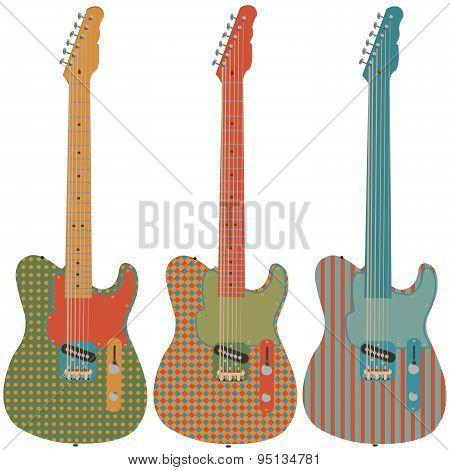 Retro Guitar Set