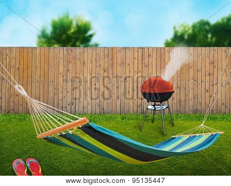 Hammock And Bbq