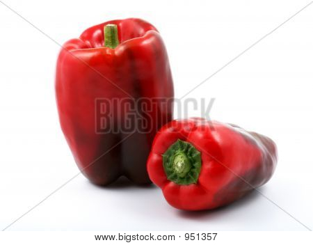 Bright Red Peppers