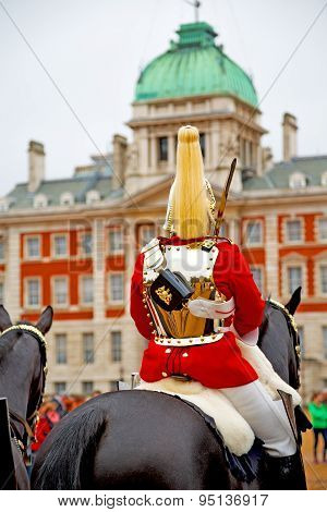 In London England Horse And Cavalry