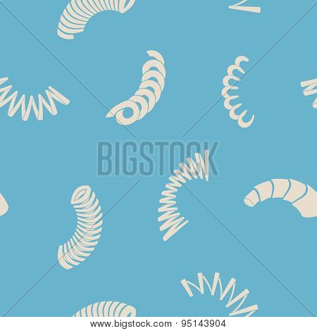 Seamless background with Springs