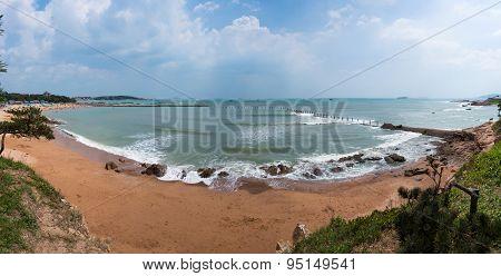Beach of Badaguan in Tsingtao