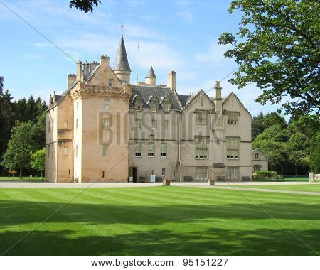 Lovely Brodie Castle, Scotland