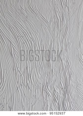 Vertical Wall With A Textured Plaster