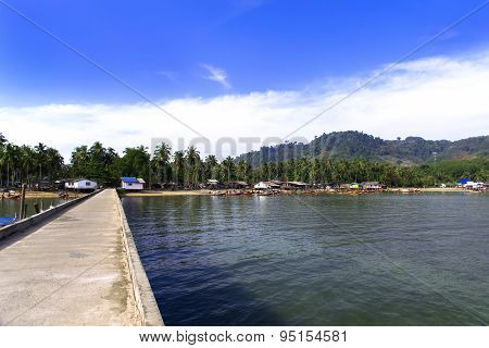 Koh Mook Pier.