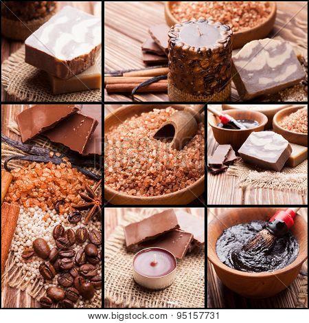 Chocolate and coffee spa