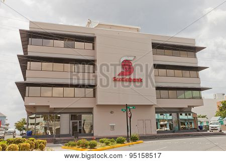 Office Of Scotiabank In George Town Of Grand Cayman Island
