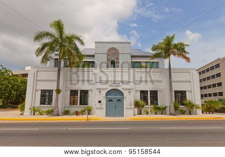 Public Library (1939) In George Town Of Grand Cayman Island
