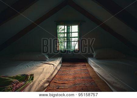 Vintage Loft Room
