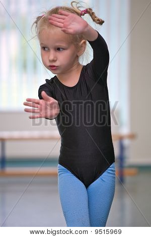 Little Gymnast Girl