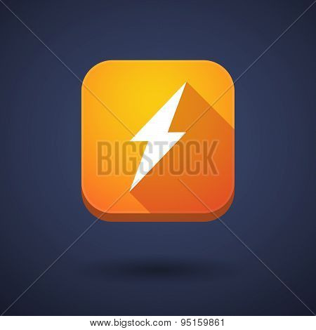App Button With A Lightning