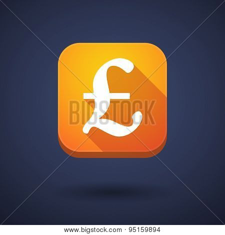 App Button With A Ruble Sign