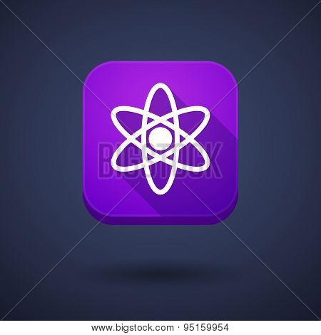 App Button With An Atom