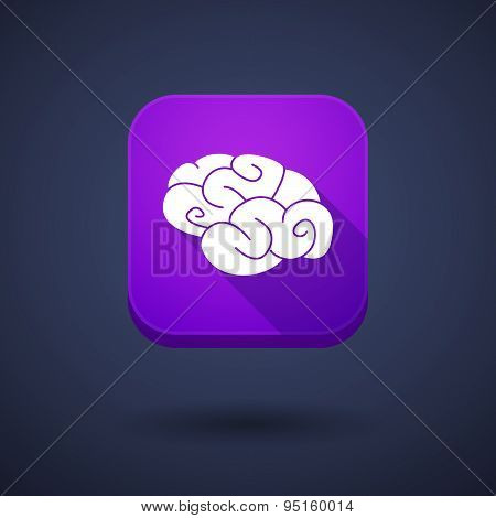 App Button With A Brain