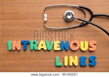 Intravenous (iv) Lines