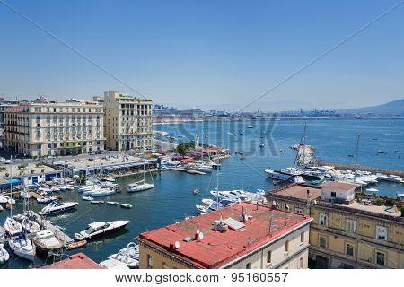 Naples, Italy, Borgo Marinari