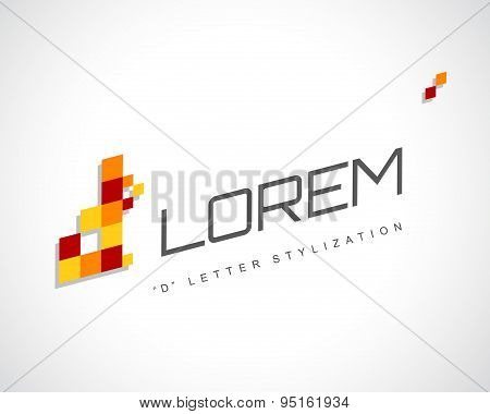 Abstract Vector Logo Design Template