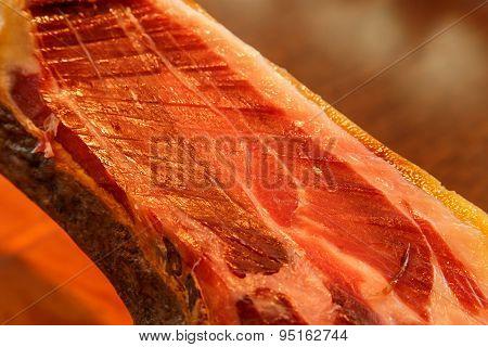 Jamon. Jamon Iberico. Traditional Spanish Ham