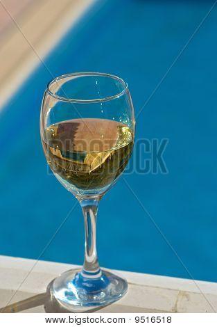 Wine Poolside