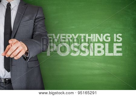 Everything Is Possible On Blackboard