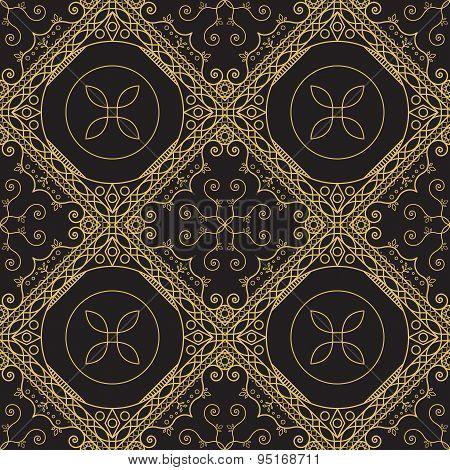 Ornamental Geometric Pattern