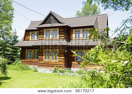 Wooden Construction Residential House, Zakopane