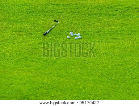 Golf Field Background